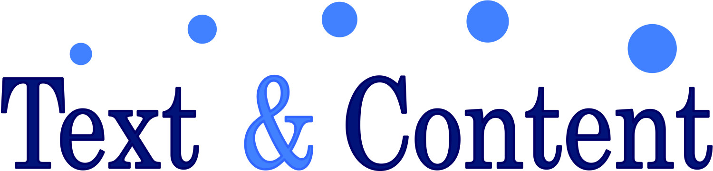Text & Content logo